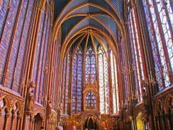 Франция. Париж. Сент-Шапель или Святая Капелла.