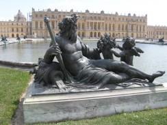 Франция. Париж. Дворцово-парковый ансамбль Версаль.