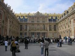 Версаль. Мраморный двор. Париж. Франция.