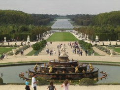 Парк Версальского дворца. Париж. Франция.
