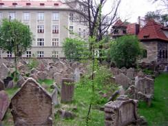 Йозефов квартал. Еврейское кладбище Праги. Чехия.