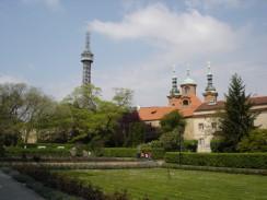 Чехия. Прага. Петршинская башня
