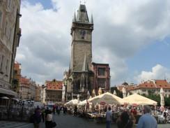 Городская ратуша на Староместской площади. Прага. Чехия.