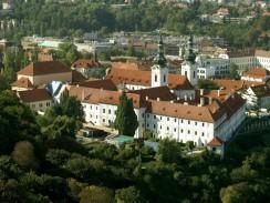 Чехия. Прага. Страговский монастырь в Градчанах