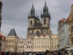 Тынский храм или Храм Девы Марии перед Тыном. Прага. Чехия.