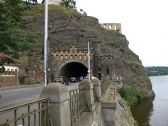 Чехия. Прага. Вышеградский туннель.