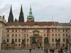 У входа в Пражский град. Прага. Чехия.