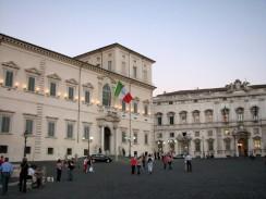 Квиринальский дворец. Рим. Италия.
