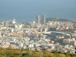 Панорама Санта-Крус-де-Тенерифе. Испания.