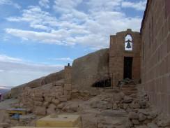 Православный храм Святой Троицы на вершине горы Моисея. Шарм-эль-Шейх. Египет.