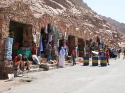Длинная тропа на гору Синай. Шарм-эль-Шейх. Египет.