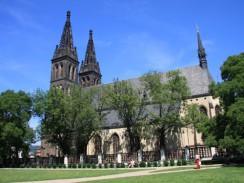 Собор св. Петра и Павла в Вышеграде. Прага. Чехия.