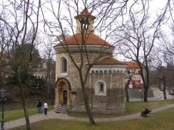 Ротонда св. Мартина в Вышеграде. Прага. Чехия.