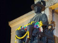 Бангкок. Таиланд. Памятник Раме I — основателю ныне действующей династии Чакри