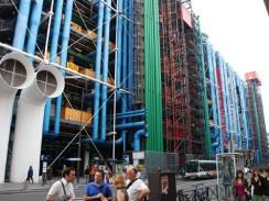 Национальный центр искусства Жоржа Помпиду. Париж. Франция