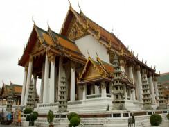 Храм Сутхат. Бангкок. Таланд