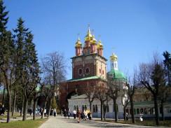Надвратная церковь Рождества св. Иоанна Предтечи в Троице-Сергиевой Лавре