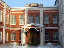 Музей в Горицком монастыре. Переславль-Залесский. Россия.