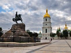 Украина. Киев. Памятник Богдану Хмельницкому