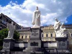 Памятник на Михайловской площади. Киев. Украина.