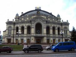 Киев. Национальная опера Украины