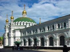 Трапезная церковь в Киево-Печерской Лавре. Киев. Украина.