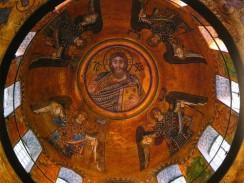 Украина. Киев. Софийский собор. Мозаика с изображением Христа