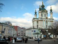 Андреевская церковь. Киев. Украина.