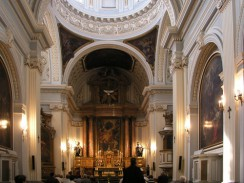 Испания. Мадрид. Интерьер церкви монастыря Энкарнасьон.