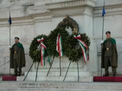 Рим. Италия. Могила Неизвестного солдата.